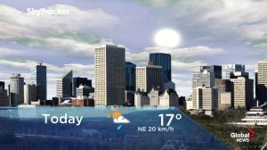 Edmonton early morning weather forecast: Tuesday, May 14, 2019